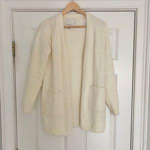 Sweaters - Ella moss eyelash cardigan xs